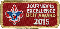 JTE 2015 Gold Patch