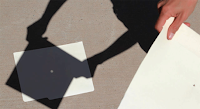 Paper Pinhole Projector
